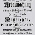 Das Urbarmachungsedikt Friedrichs II.